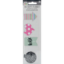 Me My Big Ideas Create 365 The Happy Planner Magnetic Clips Hello Stripes