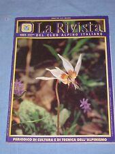 LA RIVISTA DEL CLUB ALPINO ITALIANO - Settembre Ottobre 1991 (M4)