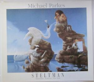 Swan Lake by Michael Parkes Fine Art Print