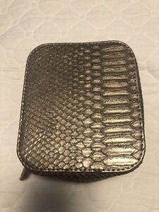 Trish McEvoy Petite Makeup Planner Snake Metallic NWOB - Plus Free Gift!