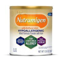 1CANS ENFAMIL NUTRAMIGEN HYPOALLERGENIC INFANT FORMULA POWDER 12.6 EXP. 9/1/21