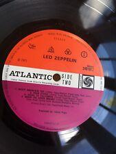 LED ZEPPELIN IV - PLUM LABEL 1st PRESS 1971 -*MISTY MOUNTAIN TOP ERROR* Vinyl LP