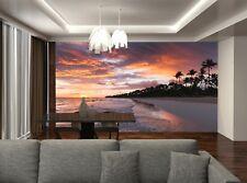 Coastal Landscape  Photo Wallpaper Wall Mural DECOR Paper Poster Free Paste