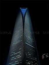 PHOTO ARCHITECTURE SHANGHAI CHINA WORLD FINANCIAL CENTRE POSTER PRINT BMP10546