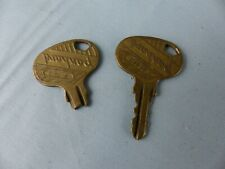 Clés clefs PANHARD H 112 + 1 HS F 123