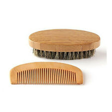 Wholesale Boar Bristle Beard Brush and Comb, Beard Comb Kit Mens Grooming Kit