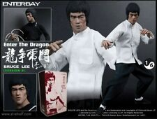 Enterbay Bruce Lee  Enter the Dragon B Version 1/6 Scale Action Figure w/Box