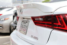 """2014 and Up Painted Lexus IS """"F Sport Style"""" Flushmount Spoiler"""