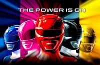 "Mighty Morphin Power Rangers RED Game Kids Decor #1 2.5/"" X 3.5/"" FRIDGE MAGNET"