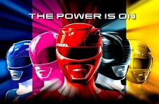 "Mighty Morphin Power Rangers  (2.5"" X 3.5"" FRIDGE MAGNET)  Game Kids Decor #3"