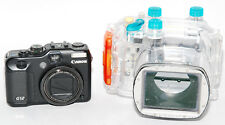 Kit Canon 12 + Case Diving Canon WP-DC34 in Discreet Conditions