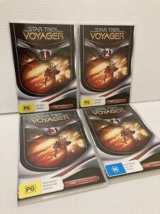 Star Trek Voyager : Season 1 (DVD, 2004, 4-Disc Set) PAL Great Condition