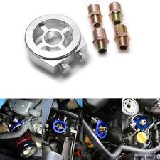 M20 x 1.5 3/4-16 UNF Car Engine System Oil Filter Cooler Sandwich Plate Adapter
