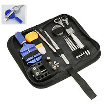 Watch Repair Tool Kit, Professional Wrist Watch Band Link Back Pin Strap Removal