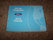 2014 Ford Focus Electrical Wiring Diagram Manual S SE Titanium 2.0L 4Cyl