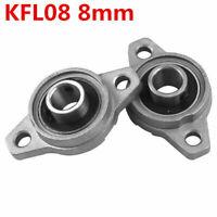 2x Flanschlager KFL08 - 8mm Gehäuselager Stehlager flange bearing CNC 3D Druck