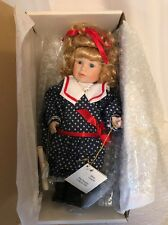 """Marie Osmond """"Gabriela"""" Collector Doll With Bracelet, Coa Card, and in her origi"""