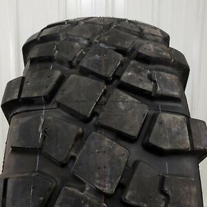 325/85R16 Michelin XML Military Surplus Mud Truck Tires, Old Stock w/ Full-Tread