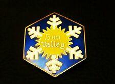 INSIGNE SKI ANCIEN -  SUN VALLEY - IDAHO (ETATS-UNIS) -徽章滑雪-Жетон лыжный-Badge