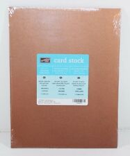 Stampin' Up! BRUSHED COPPER Cardstock RETIRED 8.5 X 11 NEW in Sealed Package!