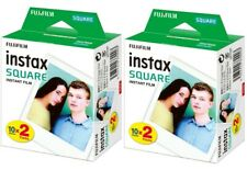 Fuji Instax Square WW2 DP Film 2x 20 = 40 Aufnahmen für SQ6 & SQ10 ! Fujifilm