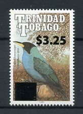 Trinidad & Tobago 2018 MNH Green Honeycreeper $3.25 OVPT 1v Set Birds Stamps