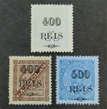 nystamps Portugal Angola Stamp # 80-82 Mint OG H $31