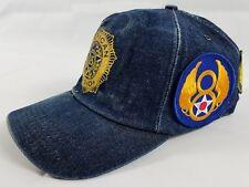American Legion Denim Prisoners of War USA Patch Snapback Hat Veteran Proud