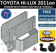 Towbar for Toyota Hilux 4WD Pick Up 2011 to 2016 with under-run - Flange 3500kg