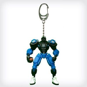 Carolina Panthers Robot Keychain