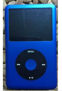 Latest Model  Apple iPod Classic 7th Gen 256GB SSD Flash Custom - 7 Colors