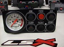 """97-02 Trans Am Camaro Z28 LSX Nitrous Oxide Control Panel 2-1/16"""" Gauge 6 switch"""