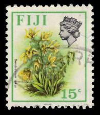 """Fidschi 313a (SG466) - Blumen """"Dendrobium TOKAI"""" 1973 Druck (pf82507)"""