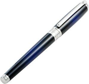 S.T. Dupont Ligne D Atelier Blue Rollerball Pen, 412714, New In Box