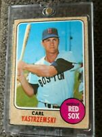 1968 Topps Carl Yastrzemski Boston Red Sox HOF