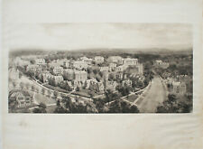 Antique ORIGINAL Engraving, Smith College, Northhampton, Mass.