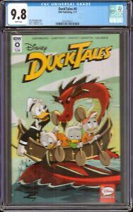 DuckTales #0 (IDW Publishing, 2017) CGC 9.8
