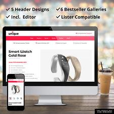 UNIQUE Professional Universal eBay HTML Listing Auction Templates Custom Design