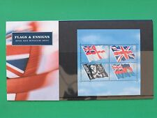2001 Royal Mail Flags and Ensigns Presentation Pack M06 SNo45489