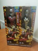 Ant-Man and The Wasp Marvel Titan Hero Series Hasbro Action Figure Bundle  New