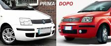 FIAT PANDA DAL 2003-2011 CALANDRA GRIGLIA MASCHERINA RADIATORE CON CROMATURE