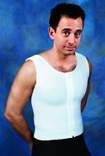 Male Gynecomastia Compression Shaper Vest Garment w/Zip