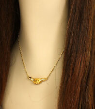 Carrera y Carrera Diamonds & 18k Yellow Gold Hand in Hand Pendant Necklace