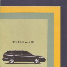 Saab 9-5 Estate 1998-99 UK Market Mailer Sales Brochure 2.0t 2.3t 3.0 V6t