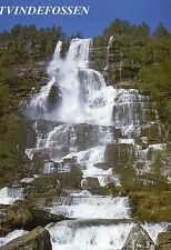 Postcards Norway  Tvindefossen unposted