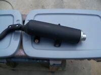 OEM Yamaha YFZ450R Stock Exhaust Pipe Muffler