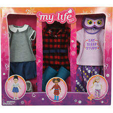 My Life As - Day in the Life As a School Girl Clothing Set for 18in Doll - NEW