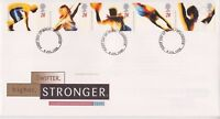 UNADDRESSED GB ROYAL MAIL FDC COVER 1996 OLYMPICS STAMP SET TONBRIDGE PMK