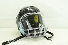 New listing Bauer Reakt 200 Hockey Helmet Black Size Small With Bauer Concept 3 Mask (1655)