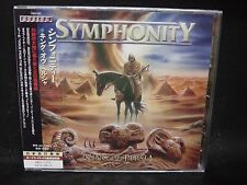 SYMPHONITY King Of Persia + 3 JAPAN CD Nemesis Luca Turilli Magic Kingdom Dionys